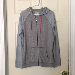 Women's light weight zip hoodie XL